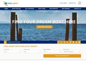 Vessel Vendor Website