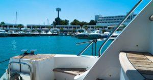 boat, marina, yacht, deck